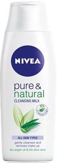 Nivea Visage Pure & Natural čistíčí pleťové mléko 200 ml