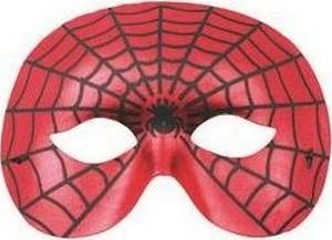 Škraboška Spiderman 19 cm vhodná pro dospělé