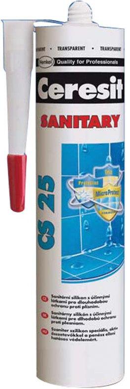 Fotografie Ceresit CS 25 Sanitární silikon transparentní 280 ml