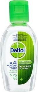 Fotografie Dettol Antibakteriální gel na ruce 50 ml
