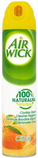 Air Wick Citrus 100% přírodní hnací plyn sprej 240 ml