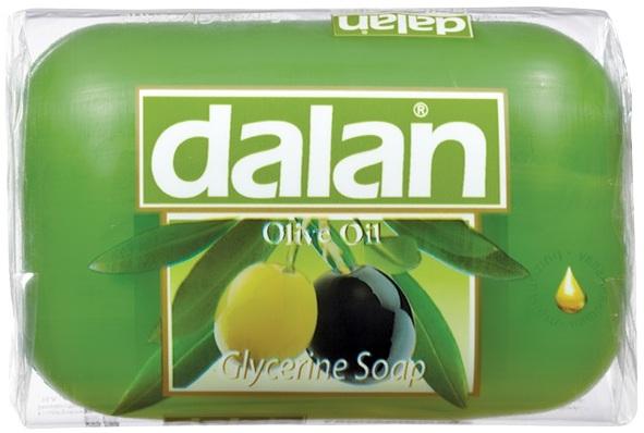 Fotografie Dalan Olive Oil glycerinové toaletní mýdlo 100 g