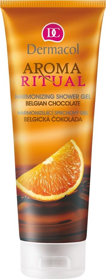 Dermacol Aroma Ritual Belgická čokoláda Harmonizující sprchový gel 250 ml