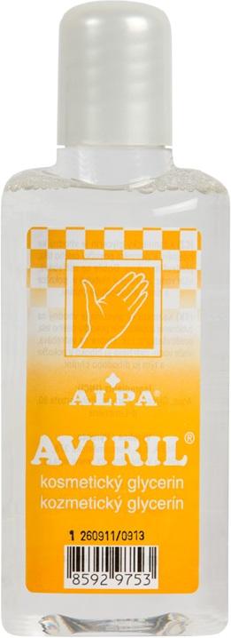 Fotografie Alpa Aviril kosmetický glycerin 115 ml