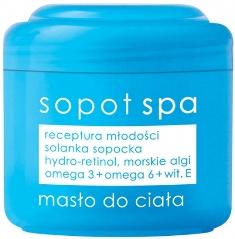Ziaja Sopot Spa mořské řasy tělové máslo 200 ml