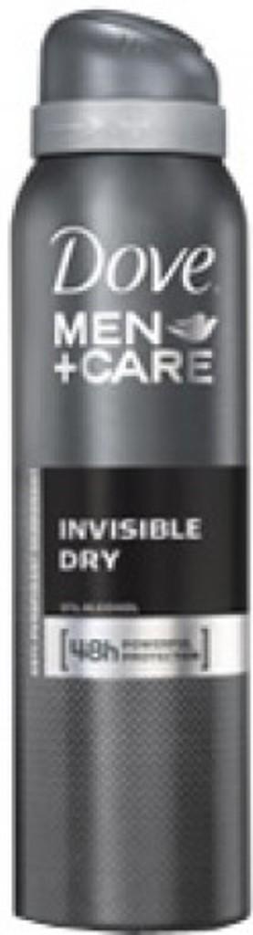 Fotografie Dove Antiperspirant ve spreji Men+Care Invisible Dry 150 ml