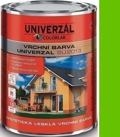 Colorlak Univerzal SU2013 syntetická lesklá vrchní barva Zelená jarní 0,6 l