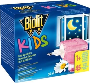 Fotografie Biolit Kids Elektrický odpařovač proti komárům 35 ml