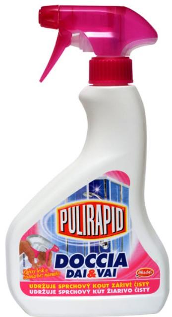 Pulirapid Doccia čistič sprchového boxu rozprašovač 500 ml