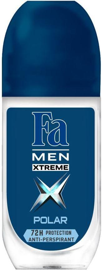 Fa Men Xtreme Polar kuličkový deodorant roll-on pro muže 50 ml