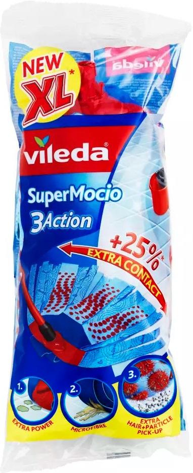 Fotografie Vileda Super Mocio 3Action mop náhrada 1 kus