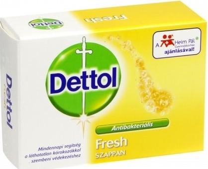 Fotografie Dettol Fresh antibakteriální toaletní mýdlo 100 g