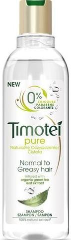 Fotografie Timotei Čistota šampon pro normální a mastné vlasy 250 ml