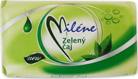 Fotografie Miléne Zelený čaj toaletní mýdlo 100 g