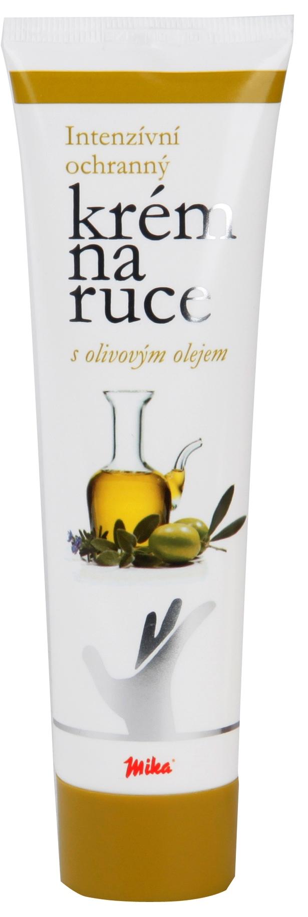 Mika Olivový olej intenzivní ochranný krém na ruce 100 ml