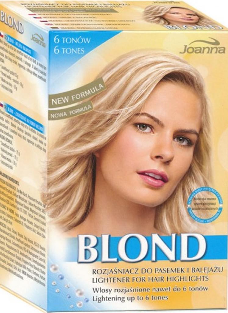 Fotografie Joanna Blond Melír A Balayage melír na vlasy 6 tónů