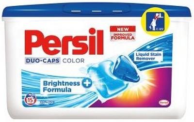 Persil Duo-Caps Color gelové kapsle na barevné prádlo 15 dávek x 25 g