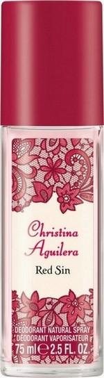 Christina Aguilera Red Sin parfémovaný deodorant sklo pro ženy 75 ml