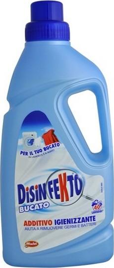 Fotografie Disinfekto Bucato antibakteriální přísada do praní, 10 praní 1 l