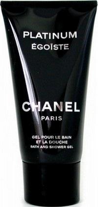 Fotografie Chanel Egoiste Platinum sprchový gel pro muže 150 ml