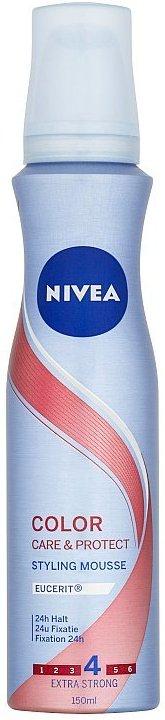 Fotografie Nivea Color Protect pro zářivou barvu pěnové tužidlo 150 ml