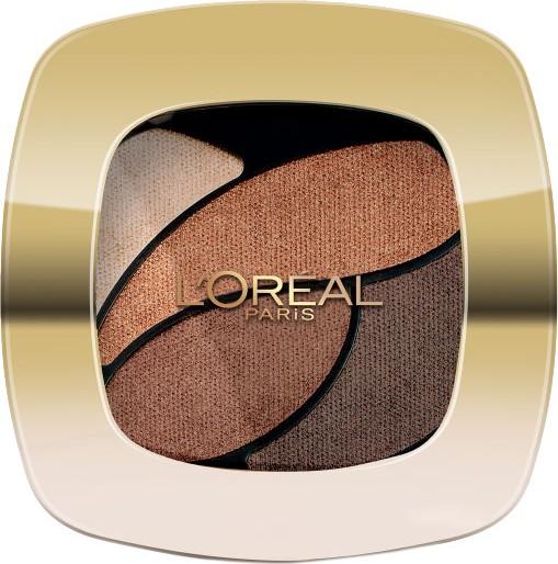 Fotografie Loreal Paris Color Riche Les Ombres oční stíny E3 Infiniment Bronze 2,5 g