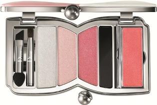 Christian Dior Chérie Bow Make-up Palette paletka očních stínů 002 Rose Perle 8,40 g