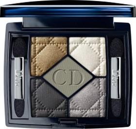 Fotografie Christian Dior 5 Couleurs Designer paletka 5ti očních stínů Royal Kaki 454 odstín 6 g