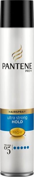Fotografie Pantene Pro-V Ultra Strong Hold Lak na vlasy pro ultra silné zpevnění 250 ml sprej