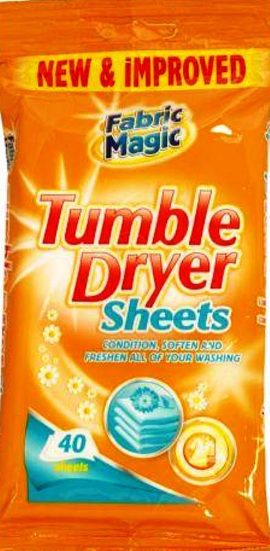 Fabric Magic Tumble Dryer Sheets vůně do sušičky vlhčené ubrousky 40 kusů