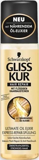 Fotografie Gliss Kur Ultimate Oil Elixir regenerační expres balzám 200 ml