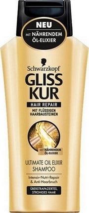 Fotografie Gliss Kur regenerační šampon Ultimate Oil Elixir 400 ml