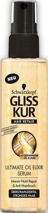 Fotografie Gliss Kur Ultimate Oil Elixir sérum pro lámající se vlasy 100 ml