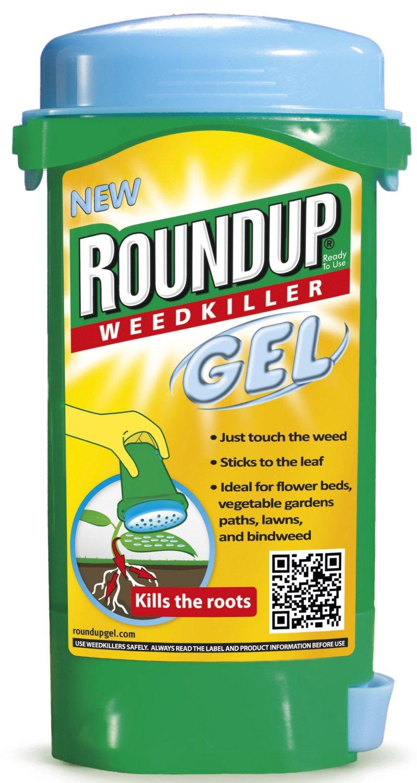 Fotografie Roundup Gel hubí plevele včetně kořenů 150 ml