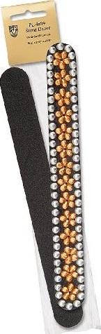 Kellermann 3 Swords Beauty pilník na nehty smirkový s dekorem PL4899