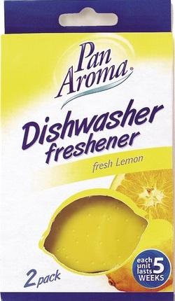 Pan Aroma Dishwasher Freshener Fresh Lemon vůně do myčky 2 kusy