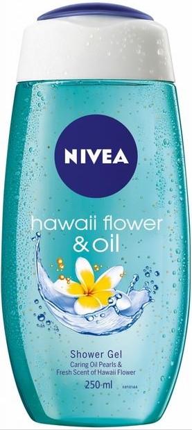 Fotografie NIVEA Sprchový gel HAWAIIAN FLOWER OIL 250ml 80863