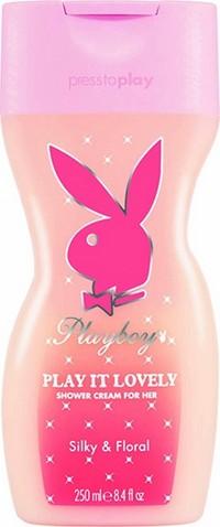 Fotografie Playboy Play It Lovely sprchový gel pro ženy 250 ml