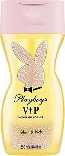 Fotografie Playboy Vip for Her sprchový gel pro ženy 250 ml