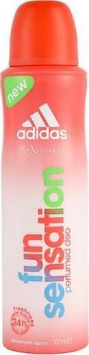 Fotografie Adidas For Women Fun sensation tělový deodorant 150 ml
