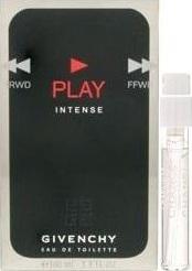 Givenchy Play Intense toaletní voda pro muže 1 ml s rozprašovačem, Vialka