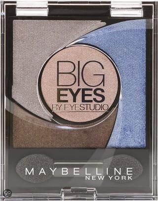 Fotografie Maybelline Big Eyes oční stíny 04 Luminous Blue 5 g