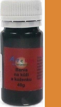 Art e Miss Barva na kůži koženku a podobné materiály, pružná vodou ředitelná 23 světle hnědá 40 g