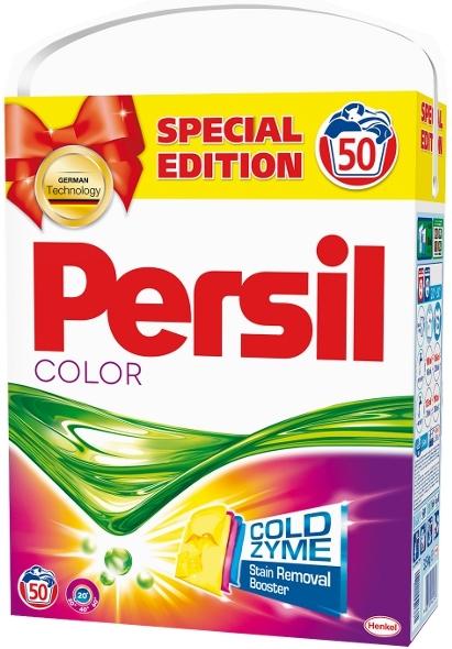 Persil ColdZyme Color prací prášek na barevné prádlo 50 dávek 3,5 kg