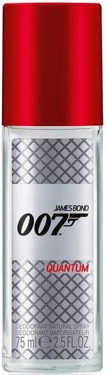 James Bond 007 Quantum parfémovaný deodorant sklo pro muže 75 ml