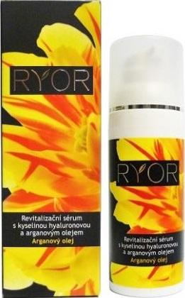 Fotografie Ryor Arganový olej s kyselinou hyaluronovou Revitalizační sérum 50 ml