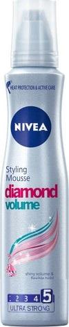 Nivea Diamond Volume pro oslňující objem pěnové tužidlo 150 ml