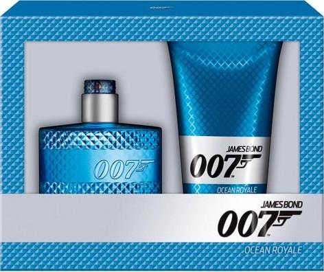 James Bond 007 Ocean Royale toaletní voda 50 ml + Sprchový gel 150 ml, dárková sada