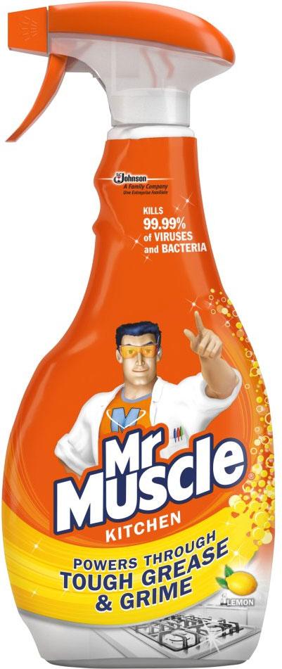 Fotografie Mr. Muscle Kuchyň 5v1 čisticí a dezinfekční přípravek 500 ml
