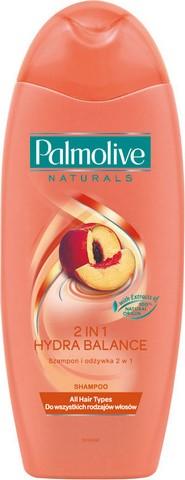 Fotografie Palmolive Naturals 2v1 Hydra Balance šampon a kondicionér 2v1 350 ml